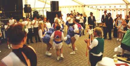 Das Tanz- und Showorchester Gothas.